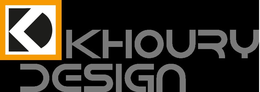 Khoury Design Logo