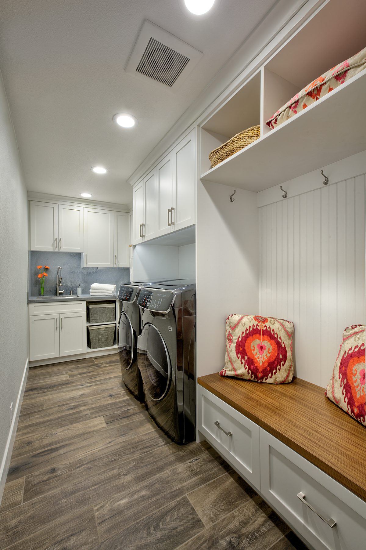 Gold River Laundry/ Mudroom Remodel 1