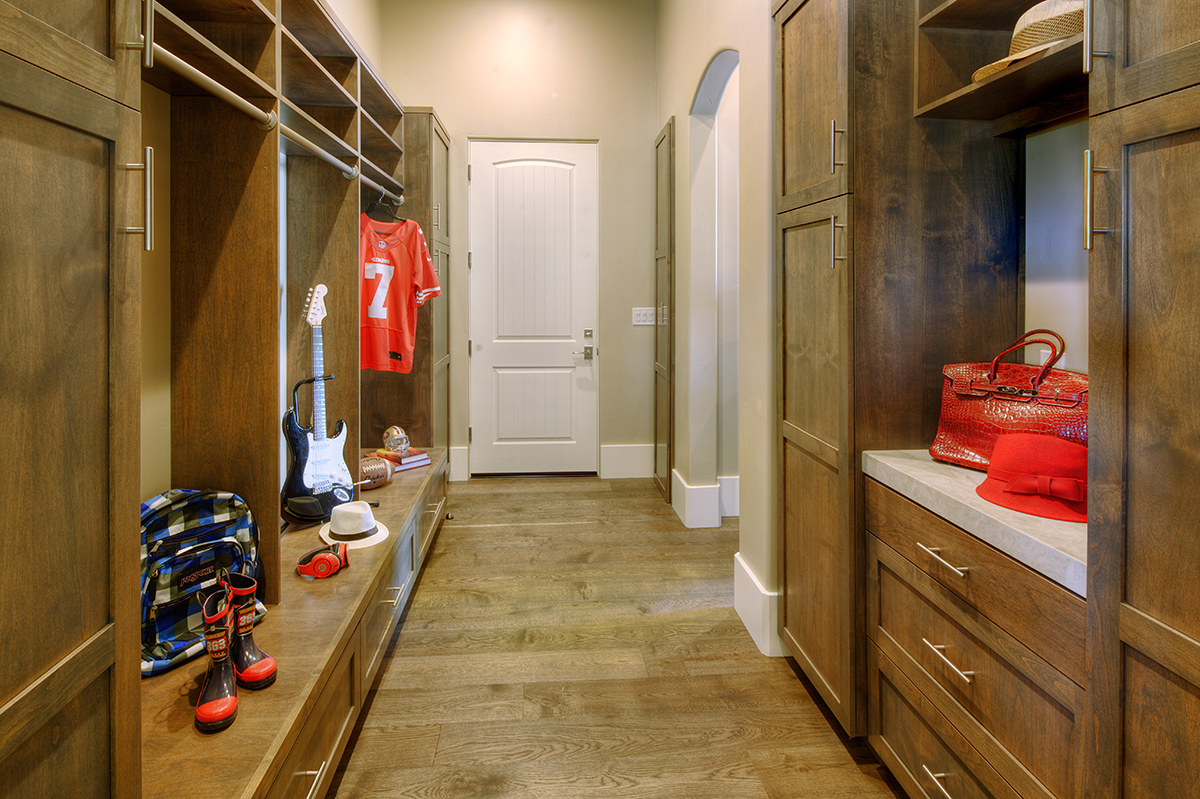 Loomis Mudroom New Construction 1