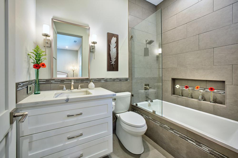 Lake Almanor Guest Bathroom New Construction 4