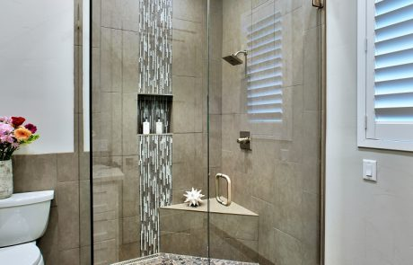 gray shower design