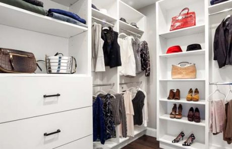 guest bedroom walk in closet