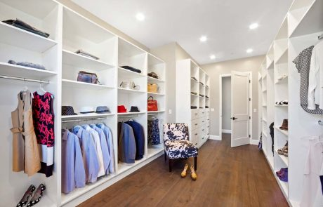 lower level Master bedroom walk in closet