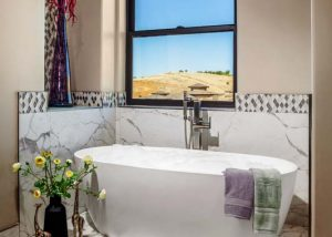 Folsom Lower Level Master Bathroom New Construction 6