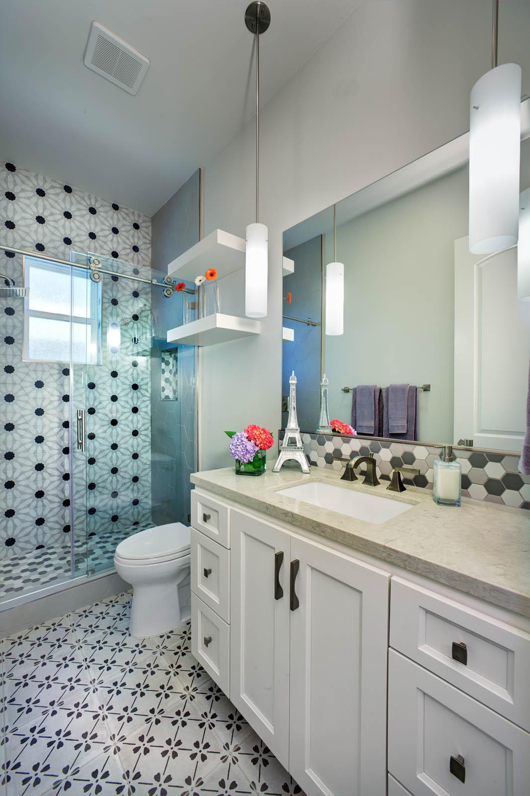 Folsom #3 Hallway Bathroom New Construction 1