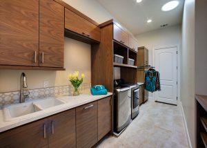 Folsom Walnut Laundry Room New Construction 1