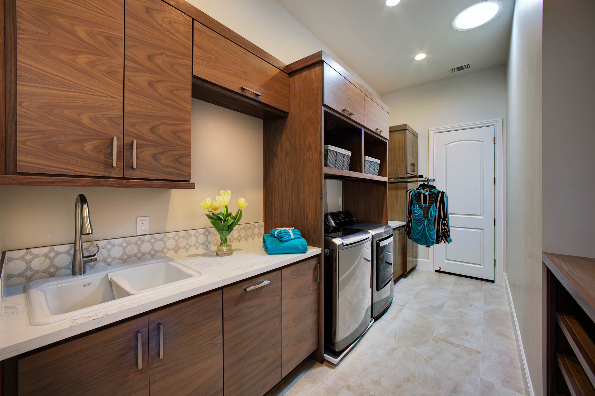 Folsom Walnut Laundry Room New Construction 2